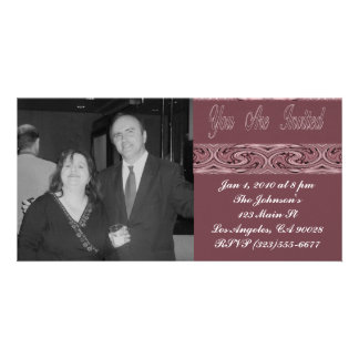 Party Invitation Photo Cards