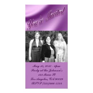 Party Invitation Photo Greeting Card