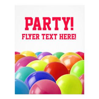 party invite 21.5 cm x 28 cm flyer