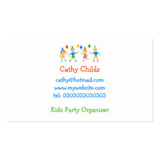 Party Kids Business Cards