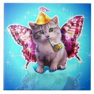 Party Kitten Tile