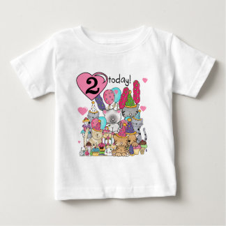 Party Kittens 2nd Birthday T-shirts and Gifts