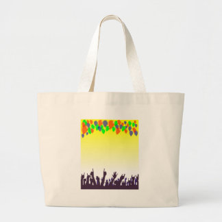 Party Large Tote Bag