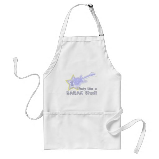 Party Like a Barak Star Aprons