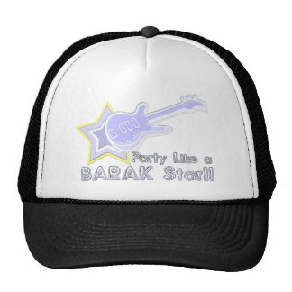 Party Like a Barak Star Hat