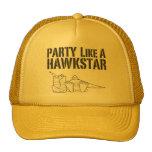 Party like a hawkstar hats