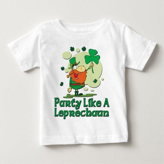 Party Like A Leprechaun Baby T-Shirt