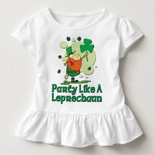 Party Like A Leprechaun Toddler T-Shirt