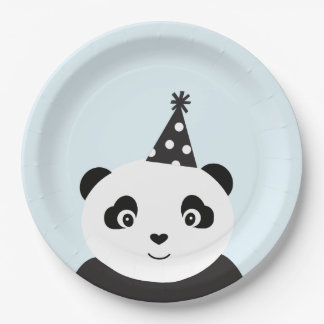 Party Like A Panda 9 Inch Paper Plate