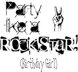 Rock Star Birthday Cards | Zazzle UK