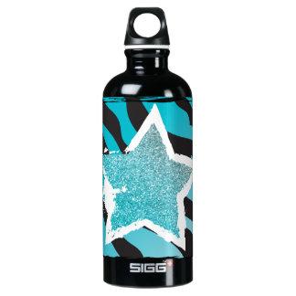 Party Like a Rockstar- Blue Water Bottle SIGG Traveller 0.6L Water Bottle