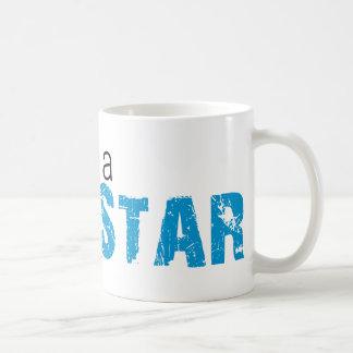 Party Like a Rockstar T-shirt Basic White Mug