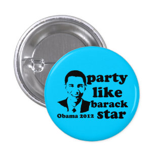 Party LIke Barack Star Pins