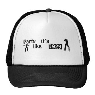 Party like it s 1929 hats