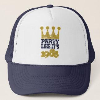 Party like it's 1985 trucker hat
