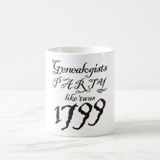 Party Like 'Twas 1799 Classic White Coffee Mug