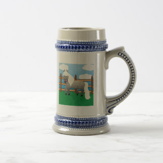 Party Marty! Beer Steins