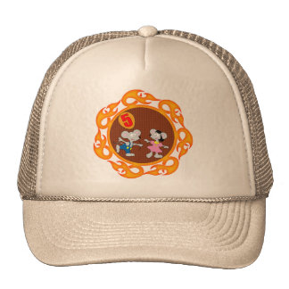 Party Mice 5th Birthday Gifts Trucker Hat