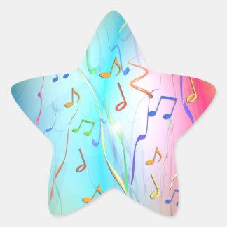Party Mix Star Sticker