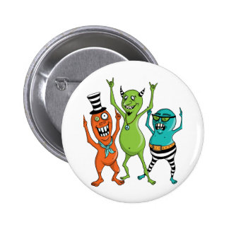 Party Monsters Pin