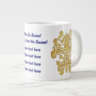Party Mug 2 Different Designs The Queen Plus 20 Extra Large Mugs