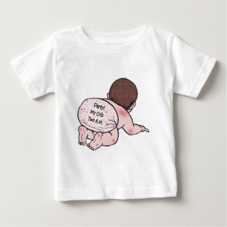 Party My Crib Baby Tshirts