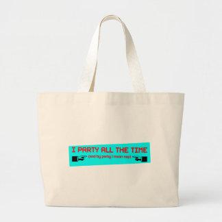 Party Nap Jumbo Tote Bag