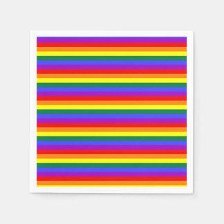 Party Napkin Pride flag rainbow Disposable Serviettes