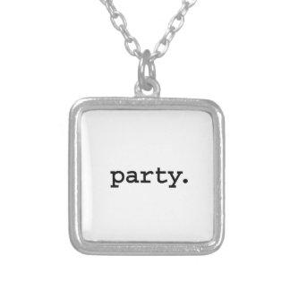 party. pendants