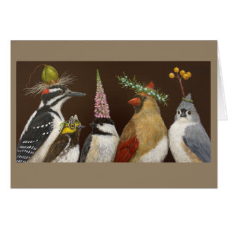 Party Night at the Feeder card