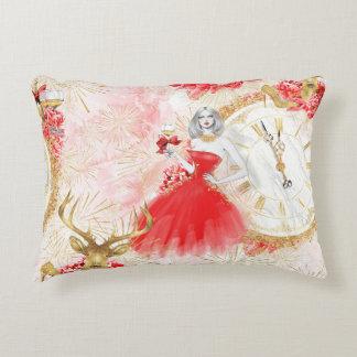 Party o'clock cushion. decorative cushion