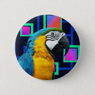 Party Parrot 6 Cm Round Badge