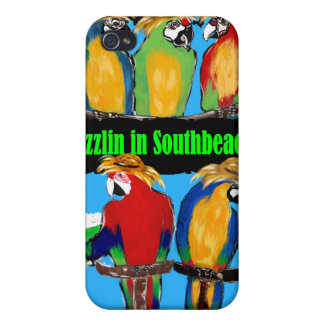PARTY PARROTS CASES FOR iPhone 4