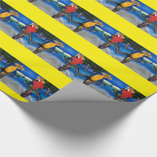 Party Parrots Wrapping Paper