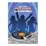 Party People Invitation 13 Cm X 18 Cm Invitation Card