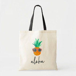 Party Pineapple Tote Bag