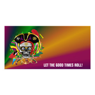 Party Pirate-2 Personalised Photo Card