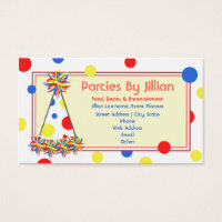 Party business card goalblockety party business card colourmoves