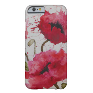 Party Poppies iPhone 6 case
