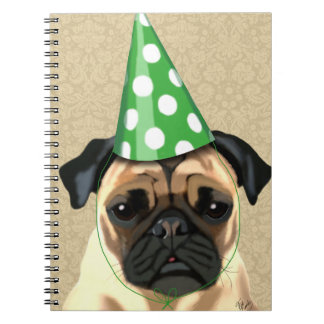 Party Pug Notebooks