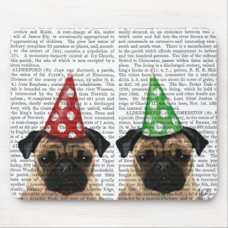 Party Pugs Pair Mouse Pad