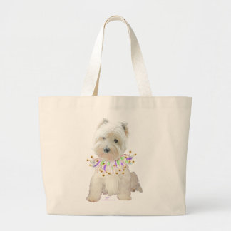 Party Puppy Large Tote Bag