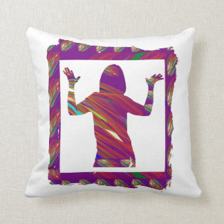 PARTY  RAP  Songs and Dancing Throw Cushions