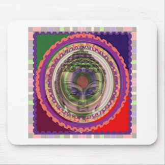 PARTY return gifts buttons magnets stickers BUDDHA Mouse Pad