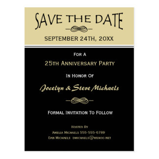 Party, Reunion, Event Save the Date Postcard