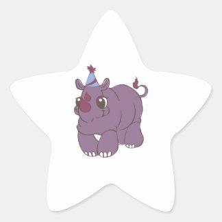 Party Rhino Stickers