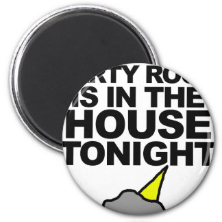 Party Rock Is In The House Tonight 6 Cm Round Magnet