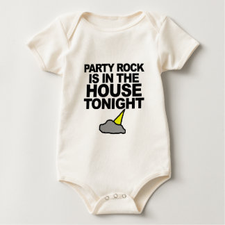Party Rock Is In The House Tonight Baby Bodysuit