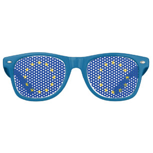 Party Shades Sunglasses - European Union flag