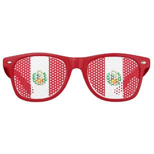 Party Shades Sunglasses - Peru flag